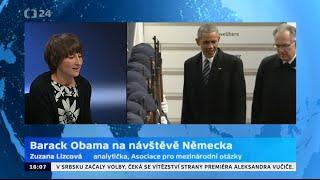 Barack Obama na návštěvě Německa