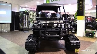 3. 2015 John Deere Gator 825i S4 XUV With Trail Kit - Walkaround - 2014 Toronto ATV Show