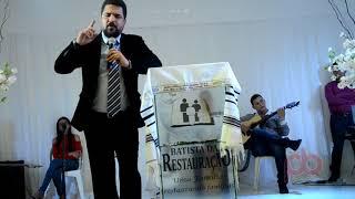 Pastor Thiago testemunha inicio da Batista da Restauração em Sousa