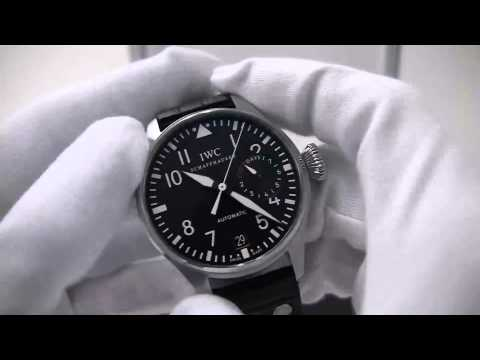 IWC Reviews - A like new IWC stainless Big Pilot, reference 500401.
