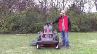 2. Toro SW TimeCutter Steering Wheel Zero Turn Mower Review