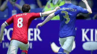 FIFA 15 Gameplay (Xbox One): Manchester United Vs Leicester City