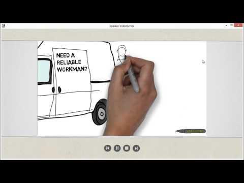 Sparkol VideoScribe Tutorial 1 - Whiteboard Animation