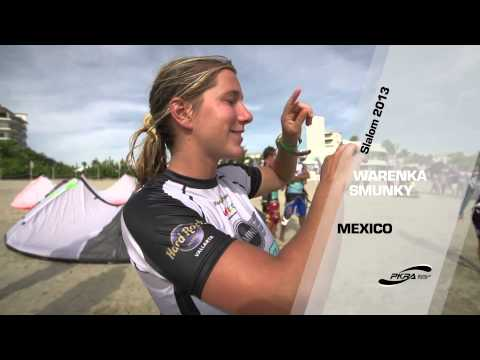 Kitesurfing News - Slalom Part 1 - MINI Kiteboard World Cup - Riviera Nayarit - PKRA 2013