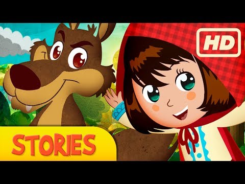 LITTLE RED RIDING HOOD, story for children, Fairy Tales and Stories for Kids,  kids story