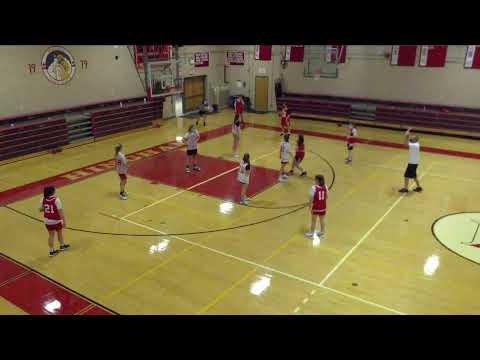 Hingham High School vs. PN Girls Freshman Basketball Varsity Womens' Basketball