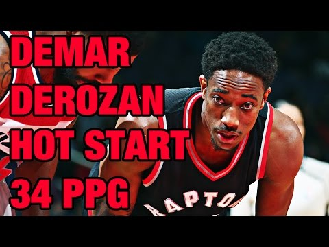DeMar DeRozan Hot Start to Season  Highlights from 1st Nine Games