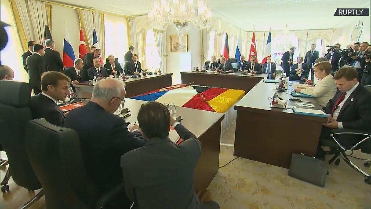 Σύνοδος κορυφής για τη Συρία -πλάνα