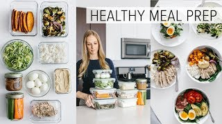 MEAL PREP | 9 ingredients for flexible, healthy recipes