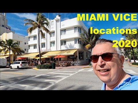 Miami Vice lieux de tournage en 2020