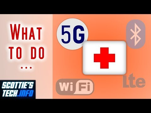 What you can do about 5G, Wifi, etc.,