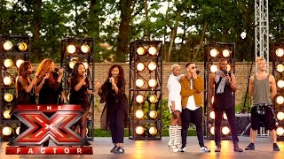 Nonton Group 7 perform All About That Bass | Boot Camp | The X Factor UK 2015 Film Subtitle Indonesia Streaming Movie Download