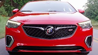 New 2018 Buick Regal GS advances the nameplate with 51 more horsepower than the model it replaces, more refined transmission and AWD technology, all-new, heated/cooled and massaging performance seats and the added functionality and style of a five-door sportback design. Starting at $39,990 with destination charges, the Regal GS offers luxury features at a price more attainable than competitors from Audi and BMW.Buick's most advanced new propulsion components come standard on the new Regal GS. With 310 horsepower, its refined 3.6-liter V-6 provides more power than an Acura TLX A-Spec or a Lexus IS350 F-Sport but offers seamless auto stop/start technology and can cruise on four cylinders. The V6 engine is complemented by a sport-tuned dual exhaust system.If you love cars you should subscribe now to YouCar the world famous automotive channel: https://goo.gl/5i54Vg