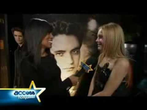 Dakota Fanning Cuenta del El Beso Con Kristen Stewart