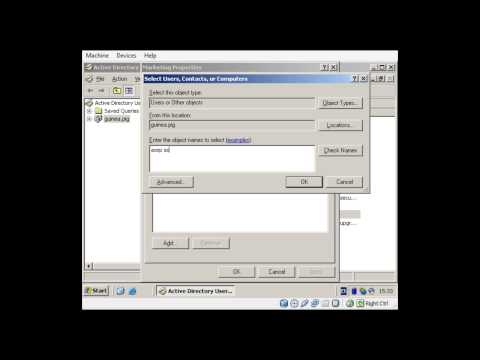 Tutorial (Praktikum) Windows Server 2003