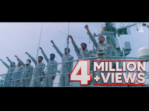 """""""Parcham Pakistan Ka""""   Pakistan Navy National Song   Independence Day   14th August 2020"""