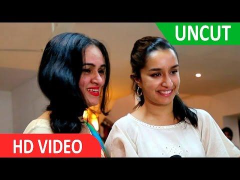 UNCUT | Shraddha Kapoor | Ganesh Stapana