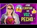 Cómo cantar con VOZ DE PECHO   Clases de Canto   Gret Rocha