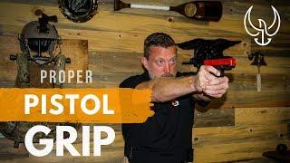 Video Proper Pistol Grip - Navy SEAL Teaches How to Grip a Pistol MP3, 3GP, MP4, WEBM, AVI, FLV September 2019