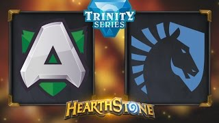 Hearthstone - Alliance vs. Team Liquid - Hearthstone Trinity Series - Day 13