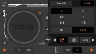 edjing - DJ Music Mixer Studio YouTube video
