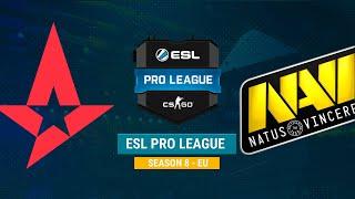 Astralis vs Na`Vi - ESL Pro League S8 EU - bo1 - de_dust2 [CrystalMay, Smile]