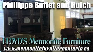 Phillipe Mennonite Buffet and Hutch