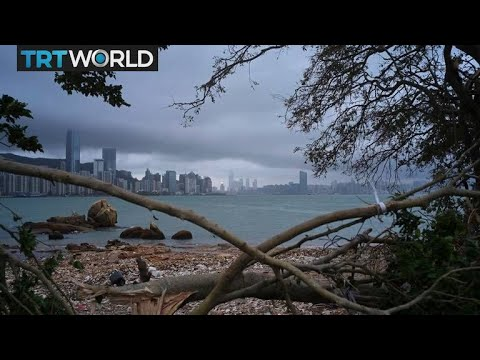Hong Kong businesses hit by typhoon | Money Talks