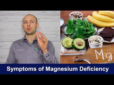SYMPTOMS OF MAGNESIUM DEFICIENCY | Health Benefits (видео)