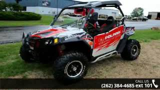 9. 2012 Polaris Ranger RZR S 800 Liquid Silver/Red LE  - Act...