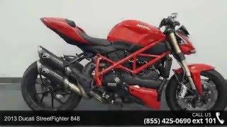 10. 2013 Ducati StreetFighter 848  - RideNow Powersports Chan...