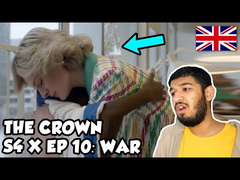 "🇬🇧 BRITISH Reacts To THE CROWN SEASON 4 EPISODE 10 - ""WAR"" REACTION"