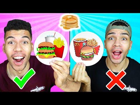 PANCAKE ART CHALLENGE 3 !!!  | Kelvin und Marvin