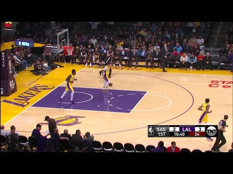 1st Quarter, One Box Video: Los Angeles Lakers vs. San Antonio Spurs