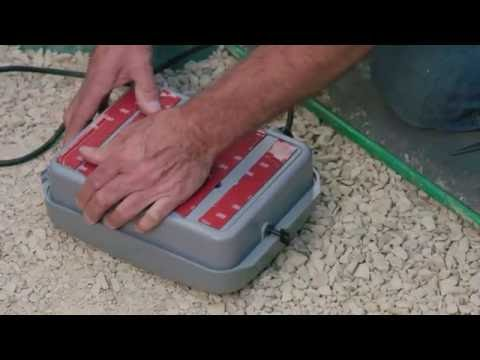 Mounting the Irrigation System Scotch Extreme Mounting Tape| The Home Team S2 E44