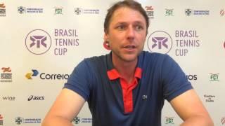 Diretor do Brasil Tennis Cup, Rafael Westrupp faz balanço da edição 2015