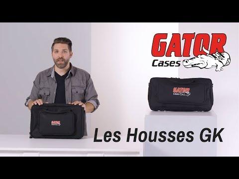 Les housses GATOR GK pour Mini Claviers et Contrôleurs (vidéo de la boite noire)