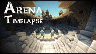 Arena Timelapse - Minecraft Madnes64 (Improvised)