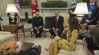 Video President Trump Meets with Prime Minister Modi MP3, 3GP, MP4, WEBM, AVI, FLV Januari 2018