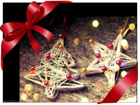 decorazioni natalizie con la lana