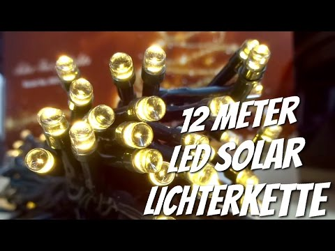 Weihnachten kommt !! Solar LED Lichterkette von KOOPOWER im Review Test
