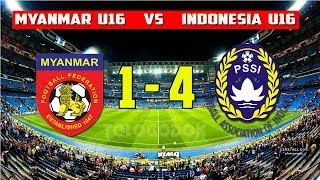 Video Timnas Indonesia U16 Libas Myanmar 4-1 ● 14/6/2017 MP3, 3GP, MP4, WEBM, AVI, FLV Desember 2017