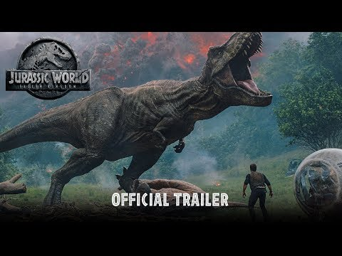 Jurassic World Fallen Kingdom Official Trailer