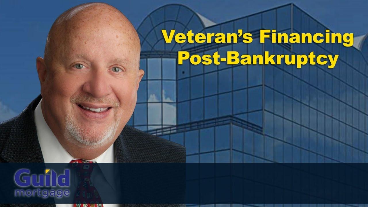 Can You Still Get a VA Loan Post-Bankruptcy?