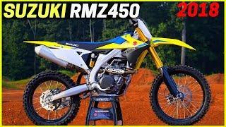 4. NEW 2018 Suzuki RMZ450 - Every Aspect of The RMZ 450 Was Updated
