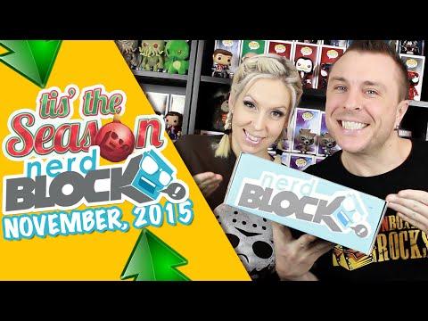 "Nerd Block Classic ""Tis' The Season"" Unboxing Review"
