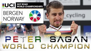 Video Peter Sagan - World Champion - Bergen 2017 MP3, 3GP, MP4, WEBM, AVI, FLV Oktober 2017