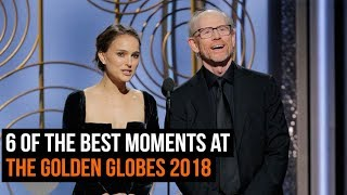 Video 6 Of The Best Moments At The Golden Globes 2018 MP3, 3GP, MP4, WEBM, AVI, FLV Januari 2018