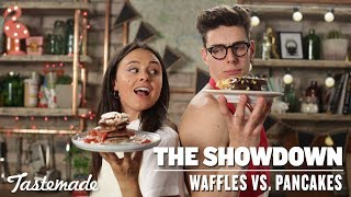 Waffles vs. Pancakes I The Showdown by Tastemade