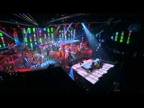 lmfao - LMFAO - Party Rock Anthem LIVE on Xfactor Australia.